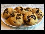 Печенье с Шоколадом Американское Печенье Chocolate Chunk Cookies Recipe Простой Рецепт