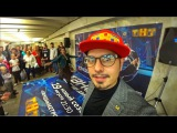 Танцы на ТНТ  Юлия Николаева  Дед отжёг в метро  Закрытие Bar BQ cafe на Трубной