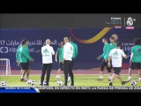 Real Madrid's final training session before the Club World Cup final!