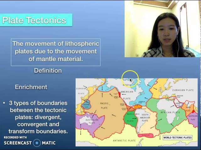Geology vocabulary