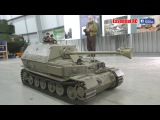 GIANT RC 16 scale ELEFANT and PANTHER TANKS at BOVINGTON TANK MUSEUM UltraHD &amp 4K