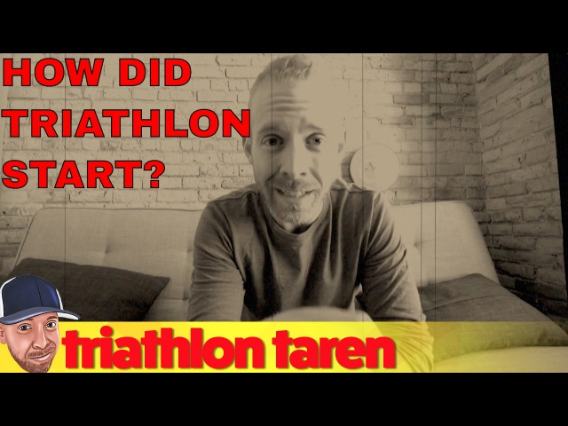 How did triathlon start