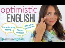 Optimistic English! Talking positively about 2018 | Vocabulary and Collocations