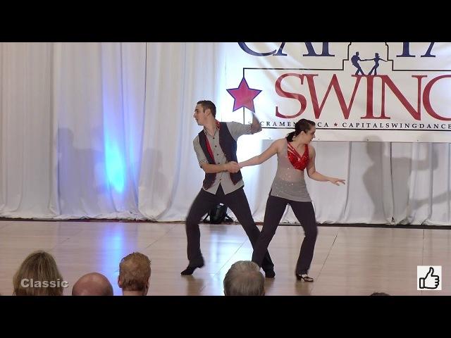 Christopher Dumond Tara Trafzer Capital Swing 2018 Classic 1st Place