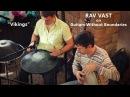 Russmak Stahislav Vikings RAV Vast Frame drum on Guitars Without Boundaries Party