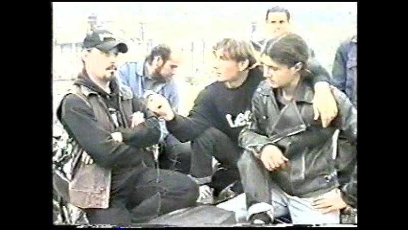 Интервью с южоукраинскими байкерами (программа Субтропики, TV Квант, 1996)