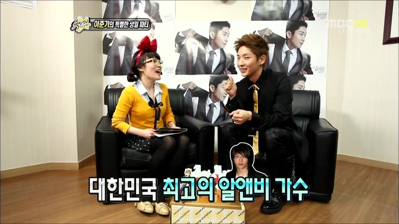 [HD] 20120422. Section TV Entertainment Communication. Lees special birthday party. Rec ILZAN