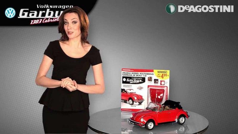 "De Agostini Polska -- Julia przedstawia kolekcję ""Volkswagen Garbus"