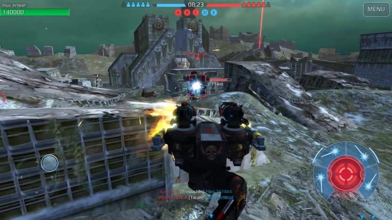 [Phoenix] War Robots [3.6] Test Server - NEW Weapon Dragoon Gameplay