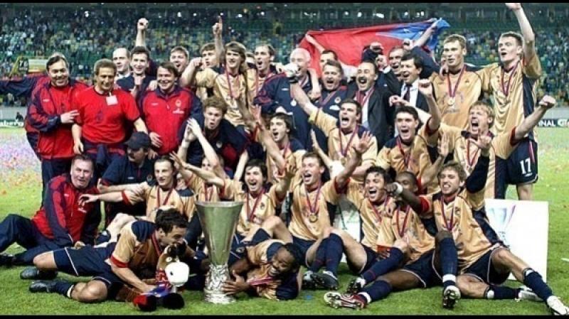 18.05 - 2005 > Кубок УЕФА > Финал > Спортинг - ЦСКА 1:3