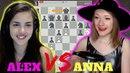 Alexandra Botez vs Anna Rudolf Chess Battle