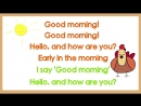 Good Morning Song for Kids (with lyrics) _ The Singing Walrus
