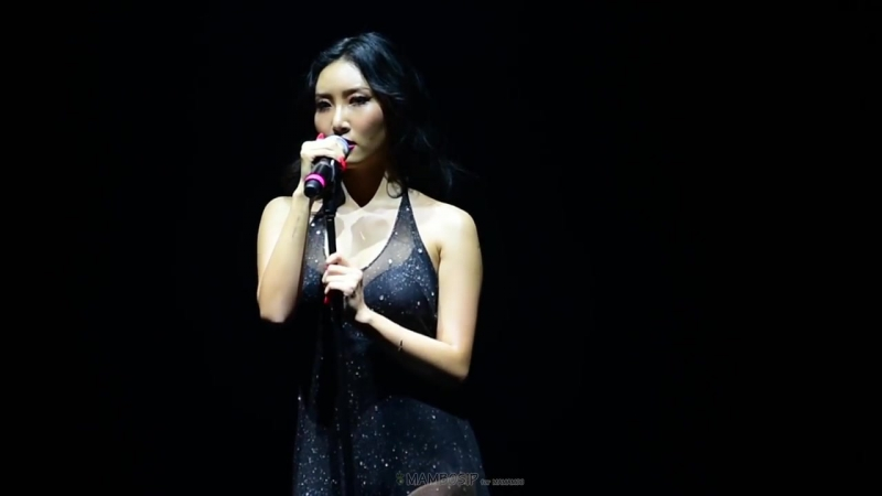 170820 Hwasa (MAMAMOO) - Diamonds My Heart You Give Love a Bad Name @ Moosical Curtain Call в Пусане