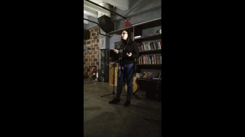 Поэтический вечер ГРУ23 Рина Мадатова
