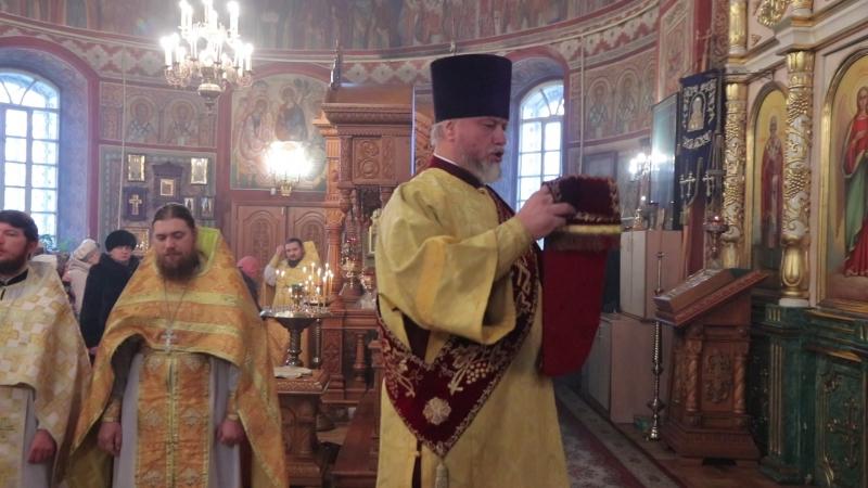 памяти протодиакона Александра Белецкого пятилетие Щигровской епархии