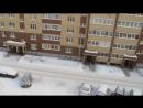 13 января 2018 год Утро 20 тихо падает снег и светит солнце