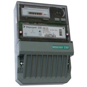 Счетчик Меркурий 3-фазный 1-тарифный 230 AM-03