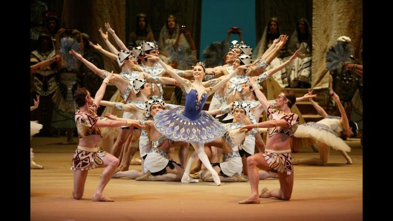 Балет Дочь фараона в Большом театре - Act.II