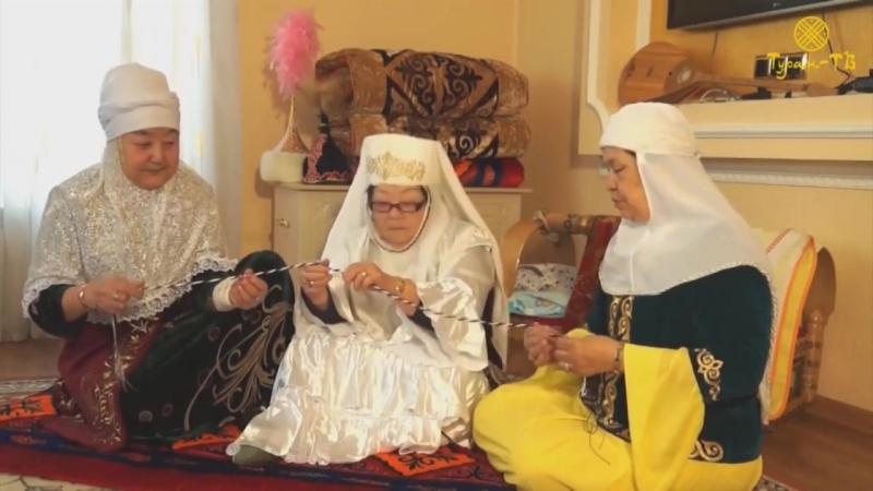 Традиции и обычаи казахов Тұсау кесу