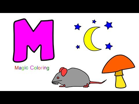 Letter M - Let's Learn the Alphabet - ABC Preschool Fun Learning