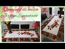 Caminho de Mesa em Crochê Jardim Encantado Por Vanessa Marcondes