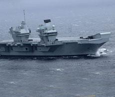 Новейший авианосец Британии