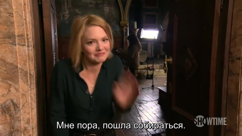 The Borgias Season 3 In Production with Holliday Grainger [Rus sub]