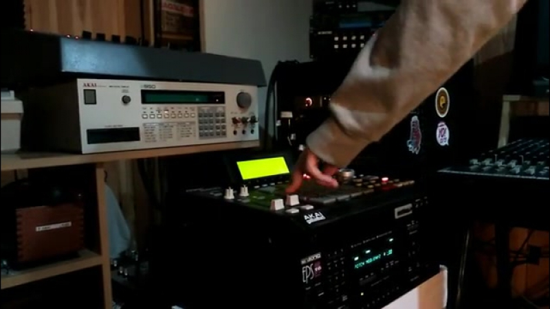 Mpadrums - Making moves e-mu SP1200