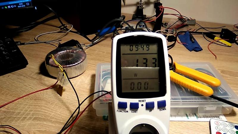 тестируем для уютного дома измеритель мощности, напряжения, тока из Китая до 22000 вата