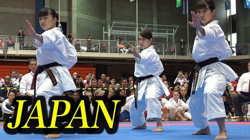 Team Japan ! World Class Karate Kata
