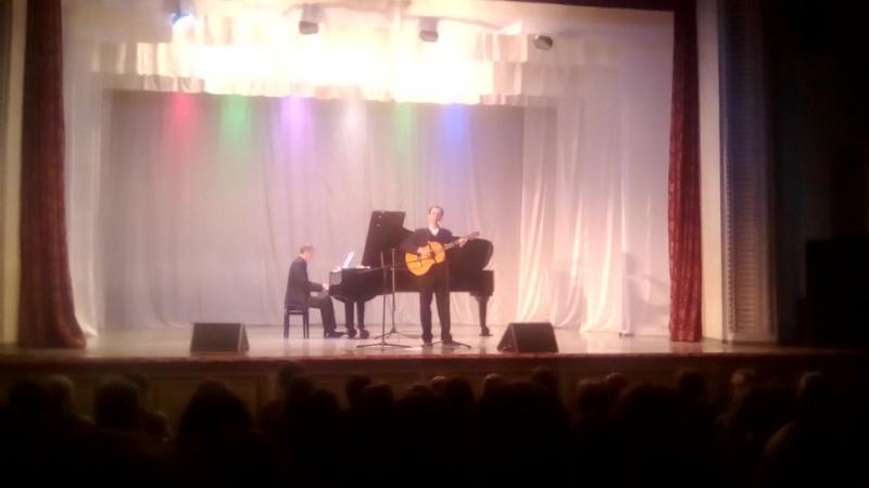 Потрясающая песня Выступление Андрея Свяцкого (баритон, СПб) в ДК г. Алапаевск.