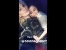 October 17: Selena in Xhesika Berberi's Instagram Stories