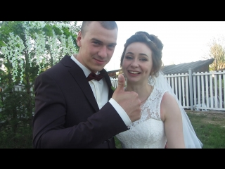 Что говорят о нас молодожёны в день свадьбы, Оля и Алексей 17 июня 2017 г.