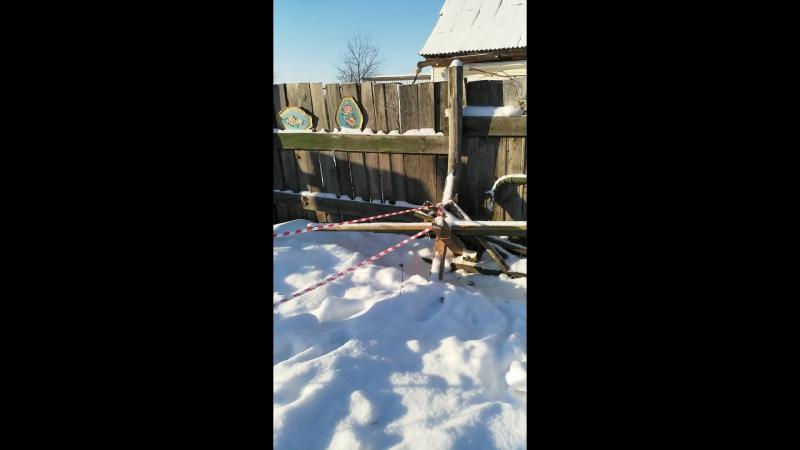 Снеговик 3. В оцеплении.