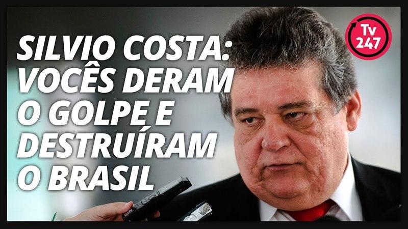 Silvio Costa dispara vocês deram o golpe e destruíram o Brasil