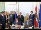 Олег Королев в составе правительственной делегации принял участие в визите Президента РФ Владимира Путина в Австрию