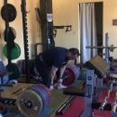 Стоян Андреев - тяга 370 кг