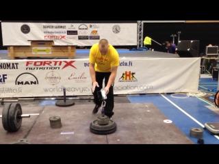 Harri Tolonen IM Block lift - 48,6kg