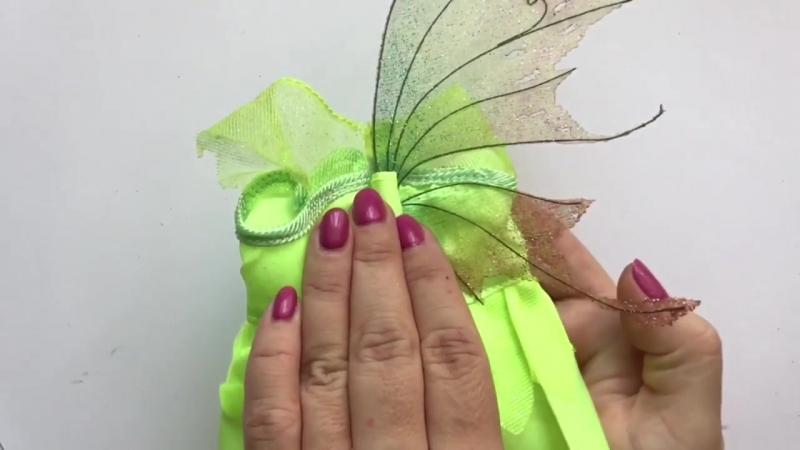 Крылья эльфа, феи, бабочки своими руками