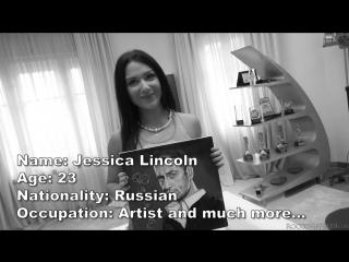 1  Jessica Lincoln / Откровенный Кастинг Рокко #14 [2018, Anal, Double Penetration DP, DAP, Новый Фильм, HD 1080p]