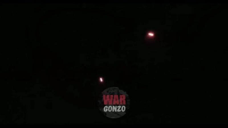 Ночь в Аль-Кадаме. Правительственные ополченцы засекли группу террористов и дали по ним пару залпов из пушки 50-ки. Орудие време