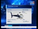 Поиск вертолёта «Еврокоптер АС-350» прекращён из-за наступления темноты