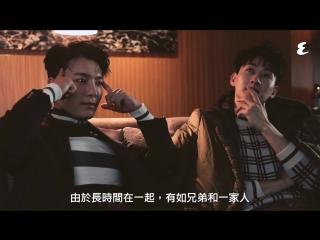 180102 Интервью для Esquire HK с SUPER JUNIOR-D&E