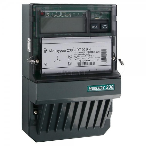 Электрический Счетчик Меркурий 3-фазный 2-тарифный 230 ART-002