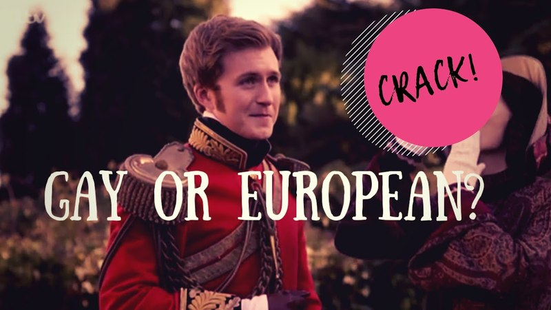 Gay or European?| Drumfred!Crack | Victoria ITV/PBS