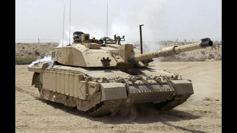 Armored Warfare Gameplay Challenger 1 with HESH - фугасы, когда была броня