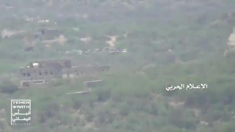 Йемен.Отражение атаки коалиции хуситами,уничтожение двух ББМ