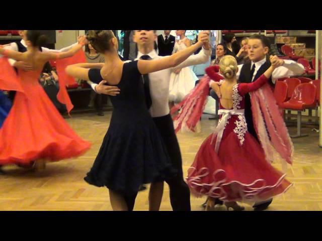 Турнир по бальным танцам, Прометей, г. Москва, 5.12.2015, стандарт Юниоры-1 Е класс, фин...