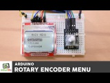 Arduino Menu Tutorial with a Rotary Encoder and a Nokia 5110 LCD display.