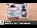 Arduino Menu Tutorial with a Rotary Encoder and a Nokia 5110 LCD display